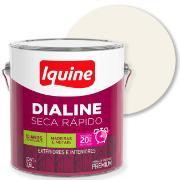 Imagem de Tinta Esmalte Sintético Acetinado Premium 3,6L - Branco Neve - Dialine Iquine