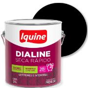 Imagem de Tinta Esmalte Sintético Alto brilho Premium 3,6L - Preto - Dialine Iquine