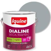 Imagem de Tinta Esmalte Sintético Alto brilho Premium 3,6L - Platina - Dialine Iquine