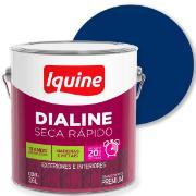 Imagem de Tinta Esmalte Sintético Alto brilho Premium 3,6L - Azul Del Rey - Dialine Iquine