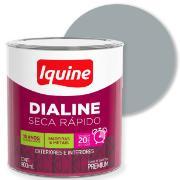 Imagem de Tinta Esmalte Sintético Alto brilho Premium 0,9L - Platina - Dialine Iquine