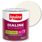 Imagem de Tinta Esmalte Sintético Acetinado Premium 0,9L - Branco Neve - Dialine Iquine