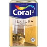 Textura Premium 33,0Kg - Branco Neve - Rústica - Coral