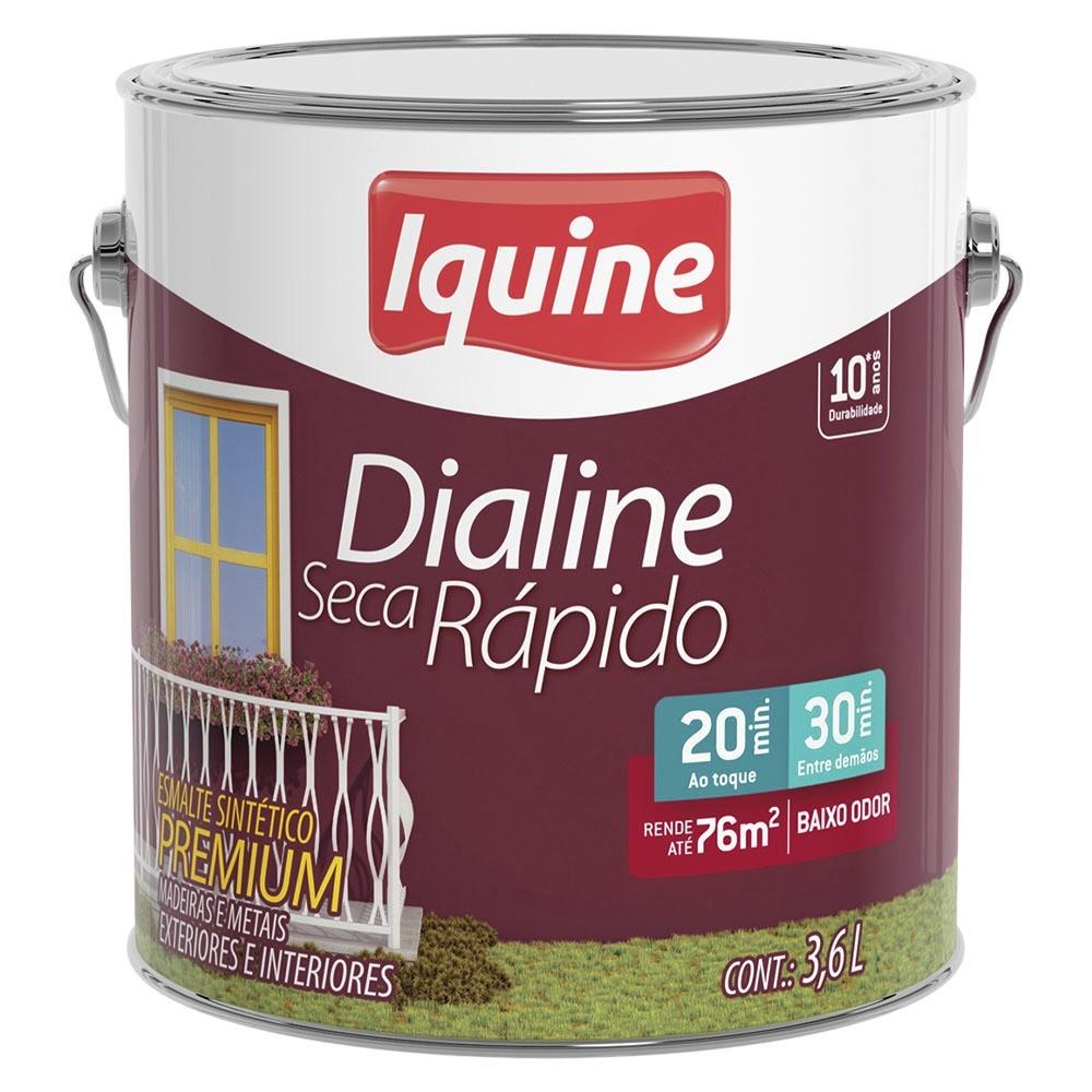 Tinta Esmalte Sintetico Acetinado Premium 36L - Marfim - Dialine Iquine