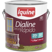 Tinta Esmalte Sintético Acetinado Premium 3,6L - Marfim - Dialine Iquine