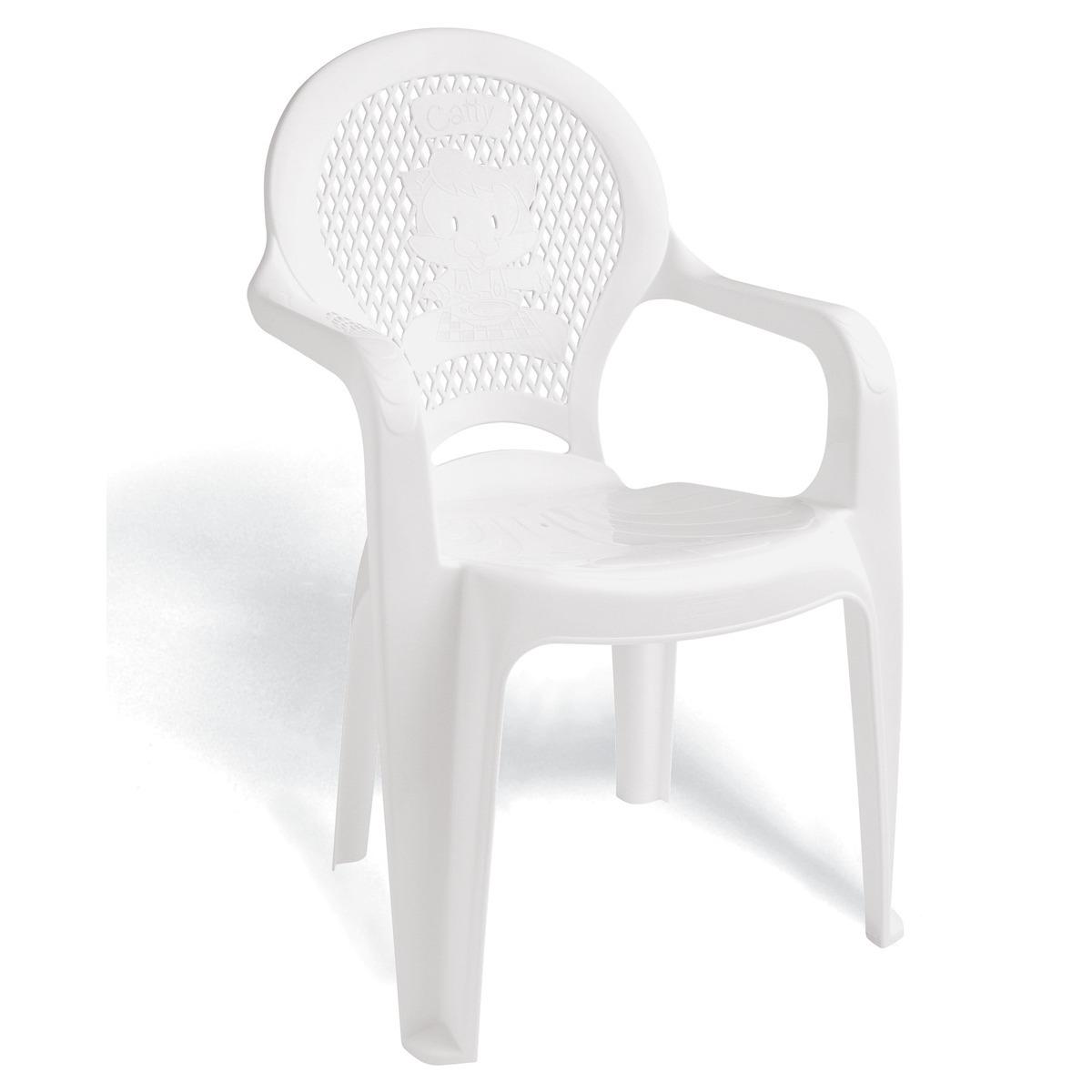 Poltrona Infantil de Plastico Estampada Branca 92264010 - Tramontina