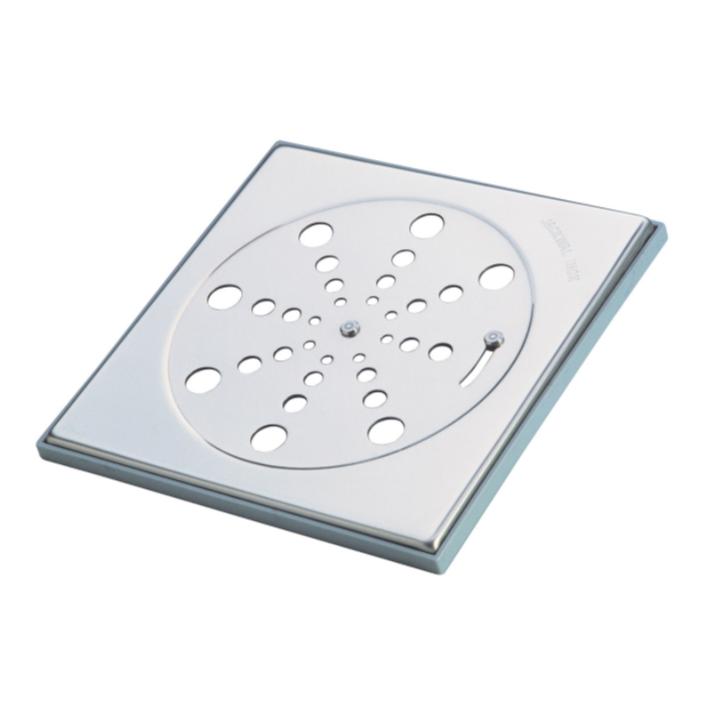 Grelha de Inox Quadrada para Esgoto Fecho 15cm 002931 - Jackwal
