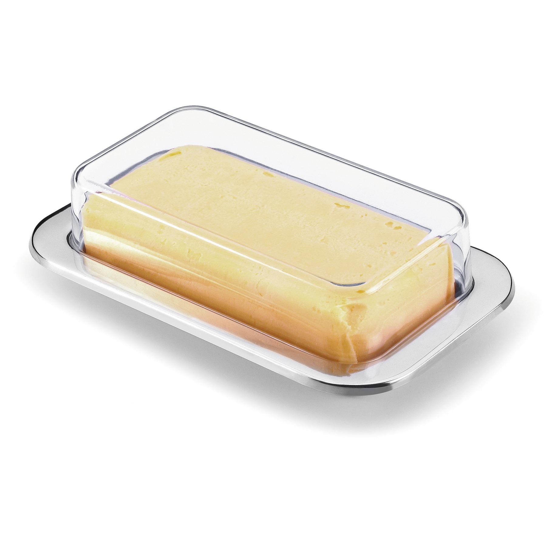 Manteigueira 200 g de Aco inox - 0144 - Forma