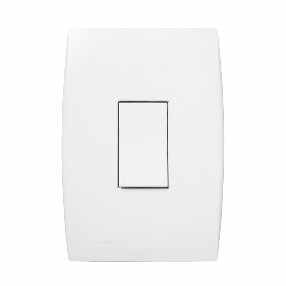 Conjunto Interruptor Simples 1 Modulo 10A - Branco - Ilus - Iriel