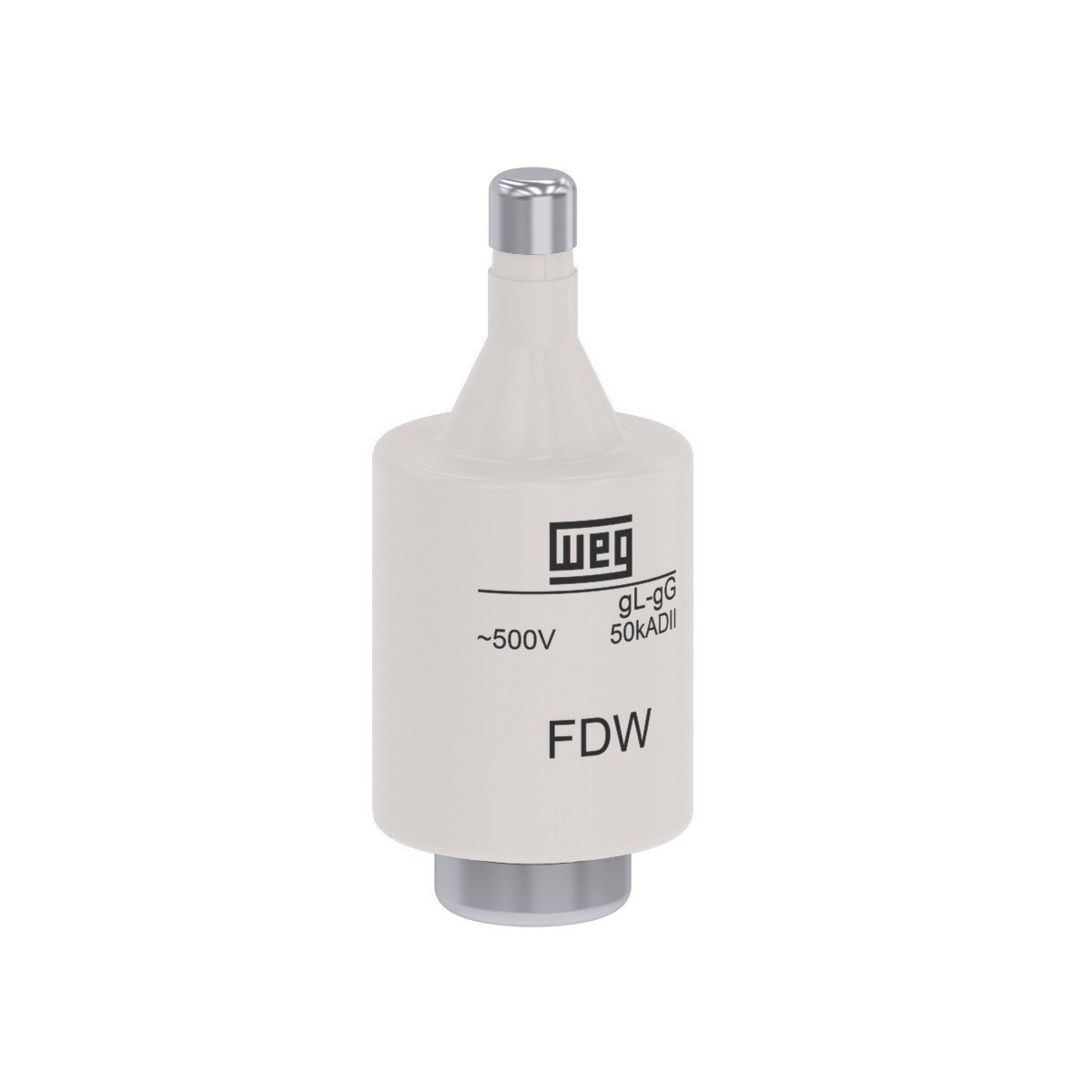 Fusivel Diazed D II 4A gGgL FDW 4 - Weg