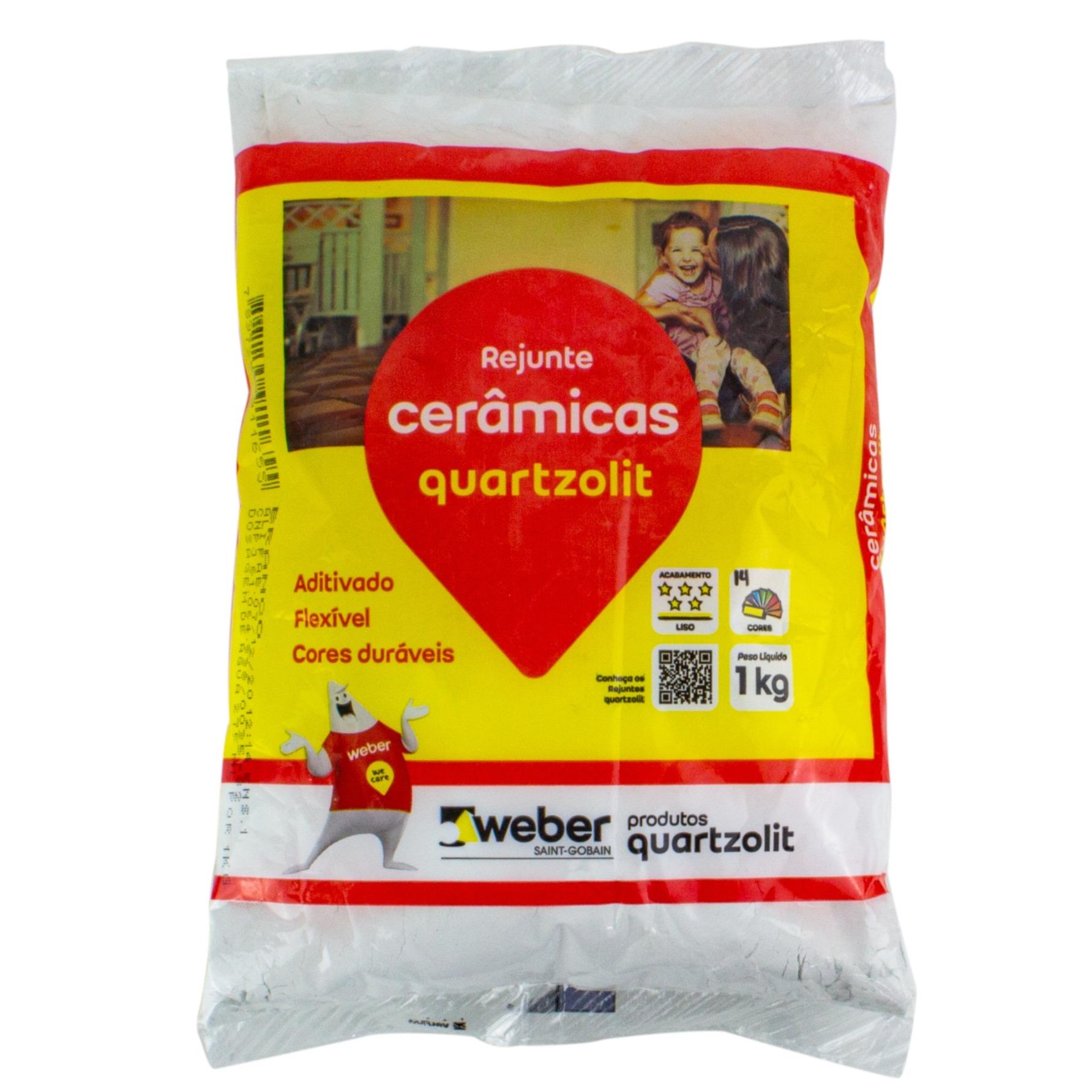 Rejunte Flexivel Weber Branco Saco1kg - Quartzolit