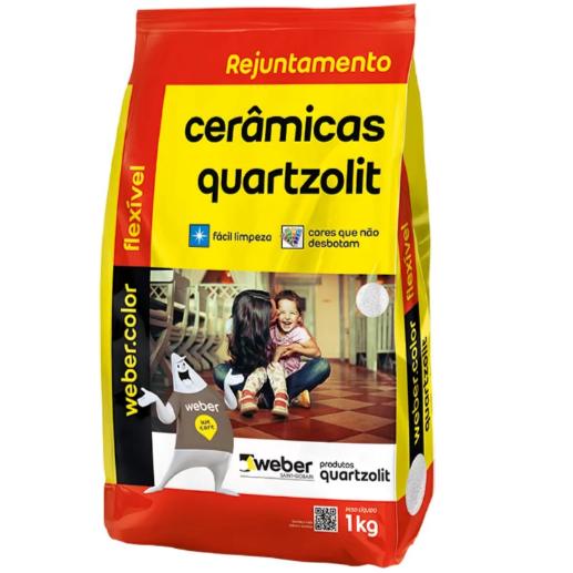 Rejunte Flexivel Weber Bege Saco1kg - Quartzolit