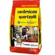 Rejunte Flexível Weber Cinza Outono Saco/1kg - Quartzolit