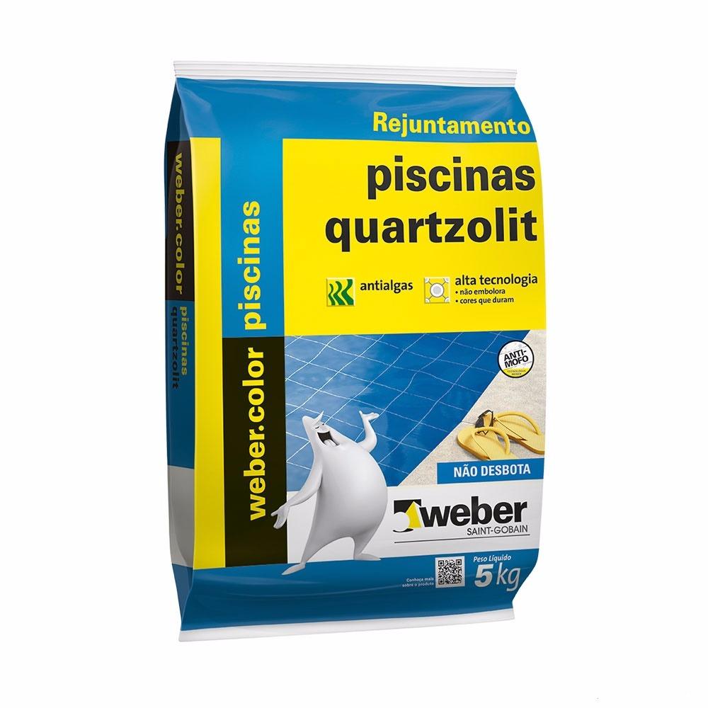 Rejunte Piscina Weber Branco Saco5kg - Quartzolit