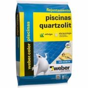 Rejunte Piscina Weber Branco Saco/5kg - Quartzolit