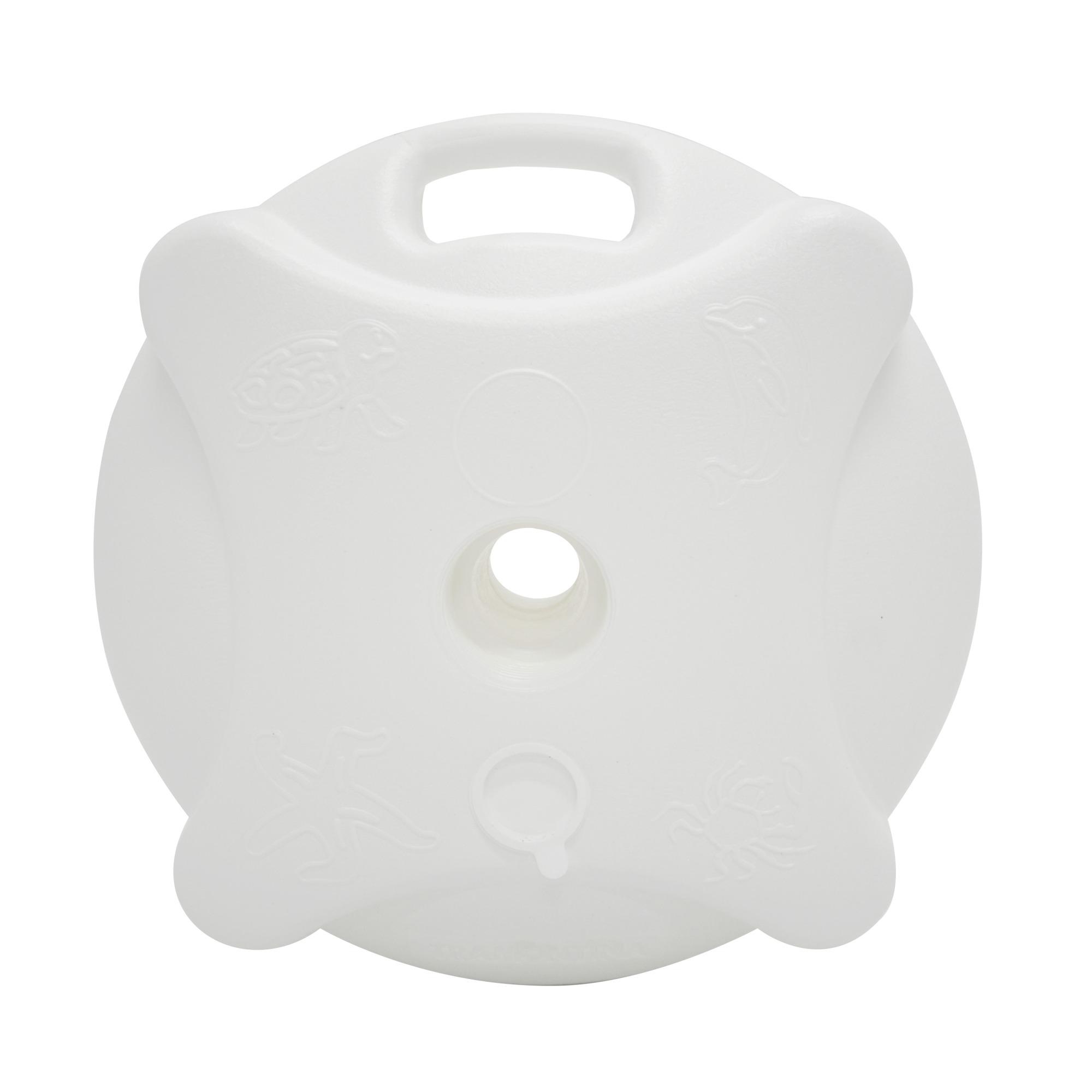 Base para Ombrelone Plastico Branco - Tramontina