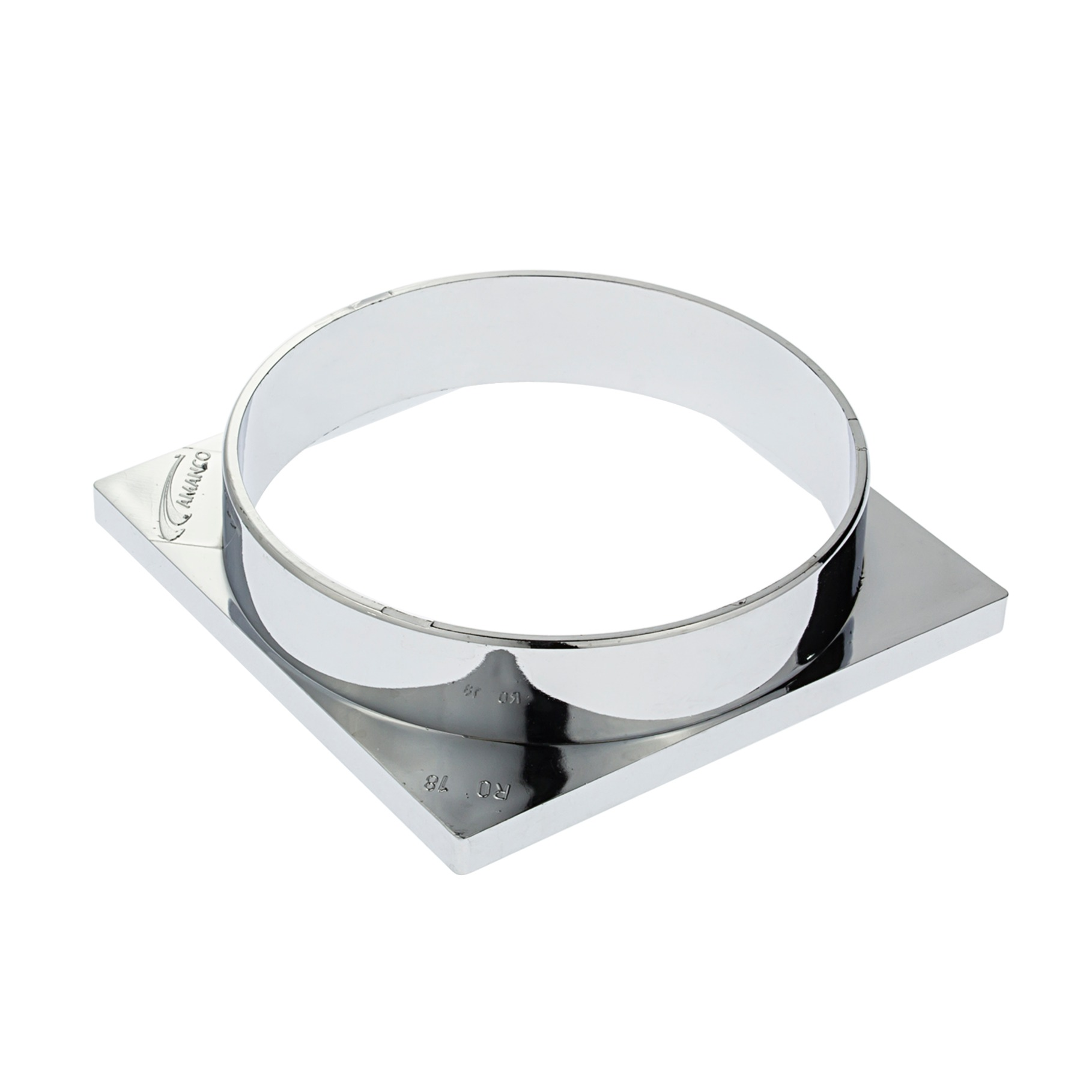 Porta-Grelha Caixa Sifonada 100 mm Quadrado 90608 - Amanco