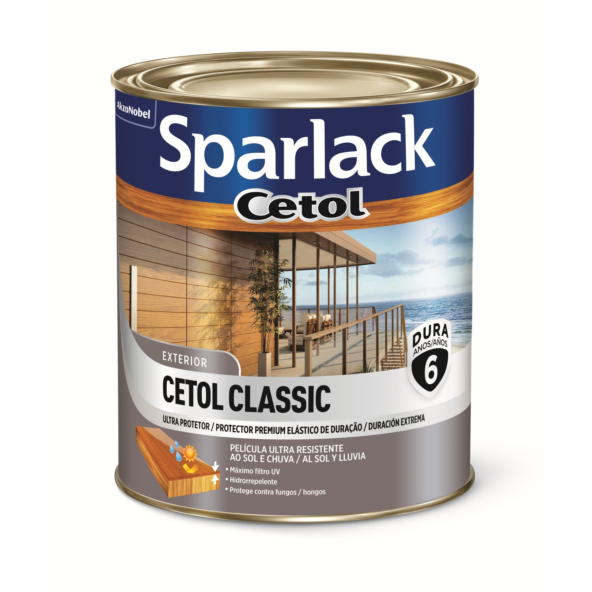 Verniz Cetol Acetinado - Ipe - 0900L - Sparlack