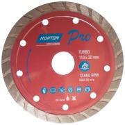 Disco de Corte Diamantado 110x20mm Turbo - Norton