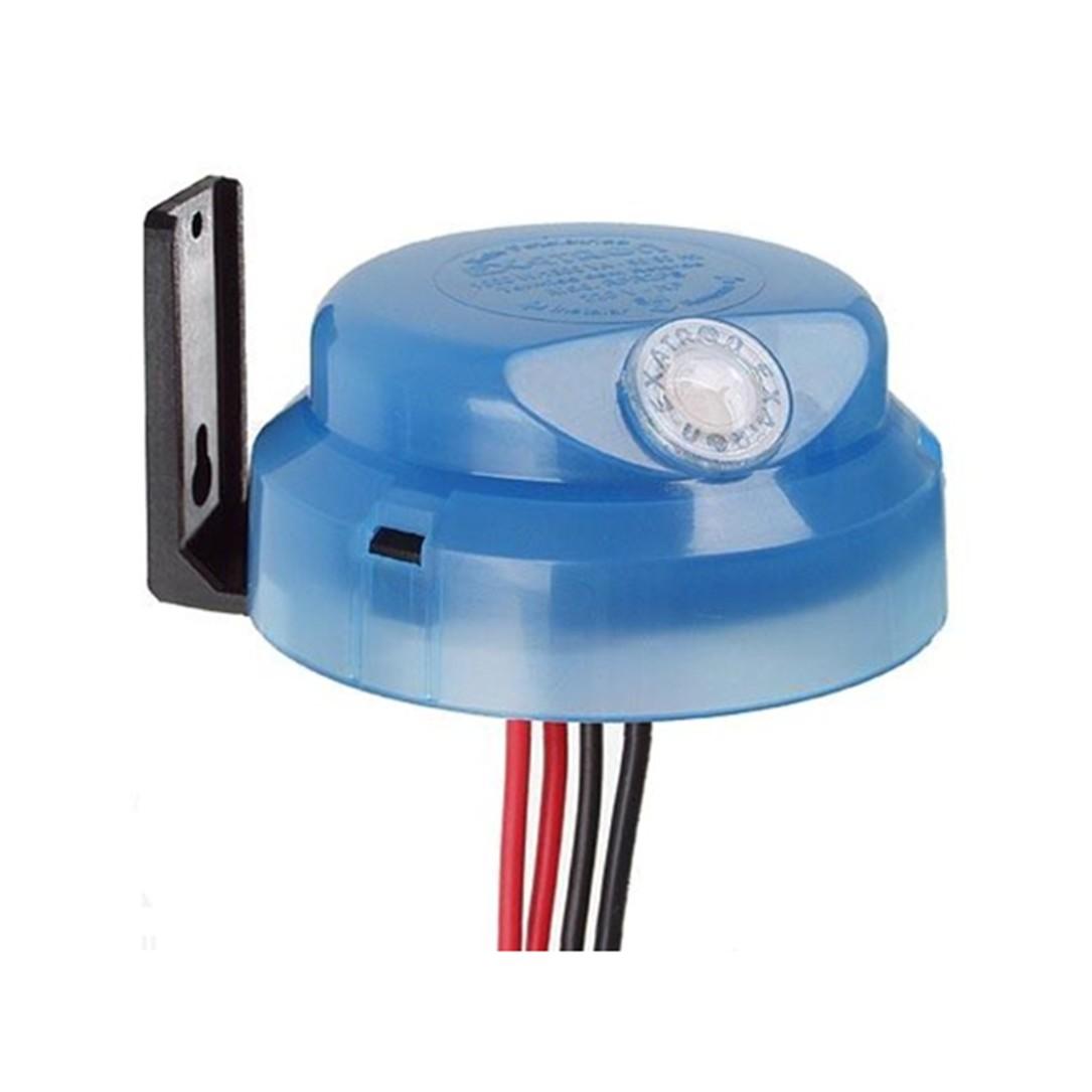 Rele Fotocelula Plastico Azul 220v Trifacil Azul - Exatron