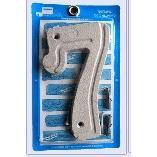 Numero 7 Aluminio Prata - Prates e Barbosa