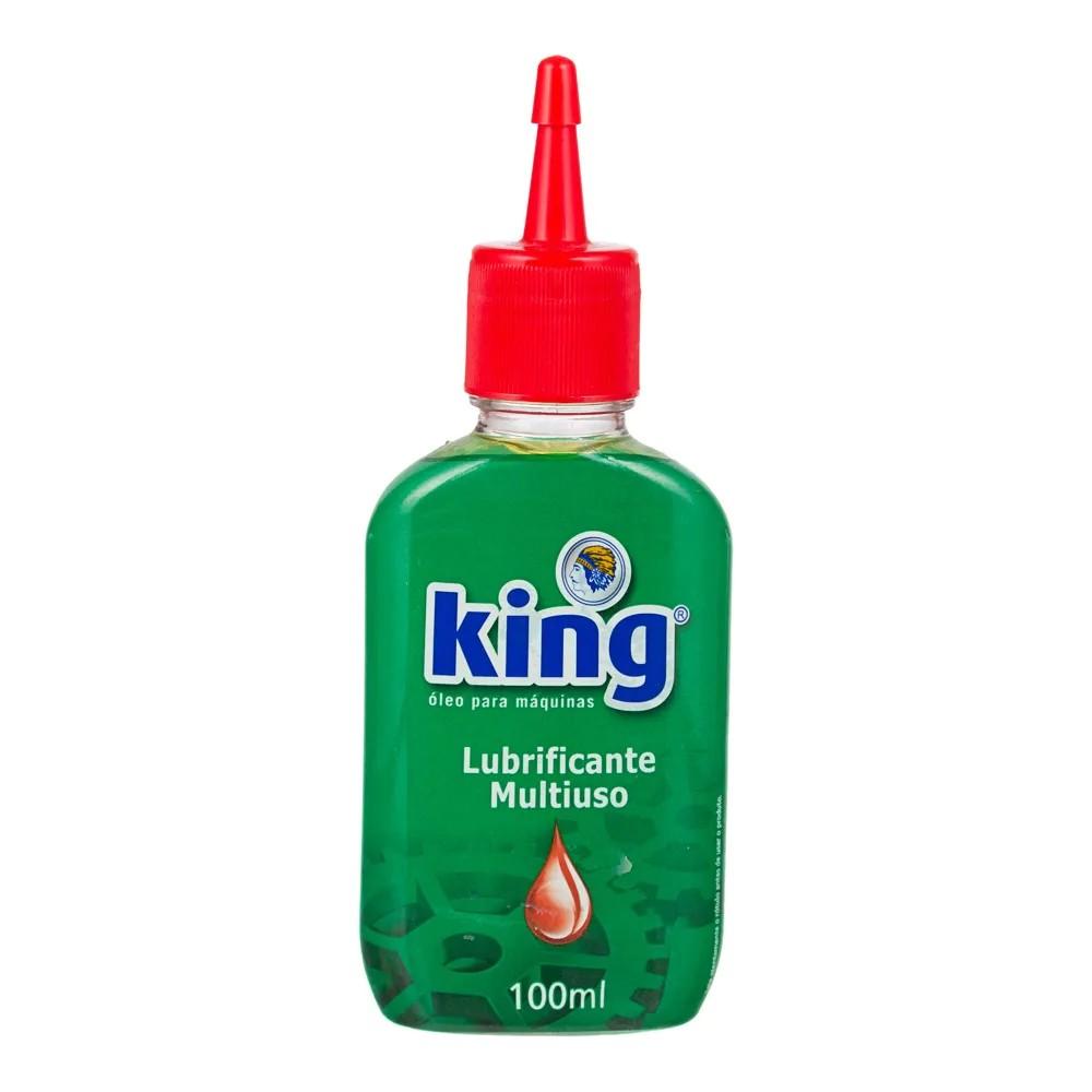 Oleo Lubrificante Multiuso 100ml King