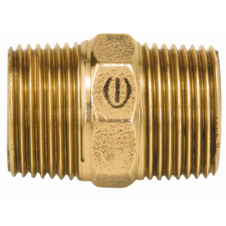 Niple Duplo Bronze Roscavel 112 - Eluma