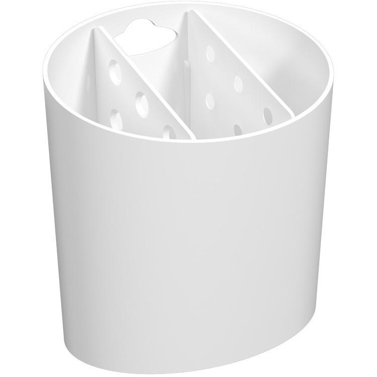 Escorredor de Talheres de Plastico Branco 108400007 - Coza