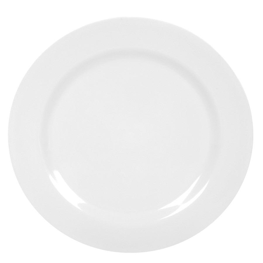 Prato fundo de Melamina Branco 23cm - Yangzi