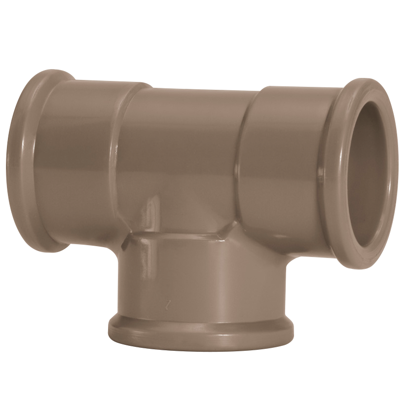 Te 90 Soldavel PVC Marrom 50 mm - Amanco
