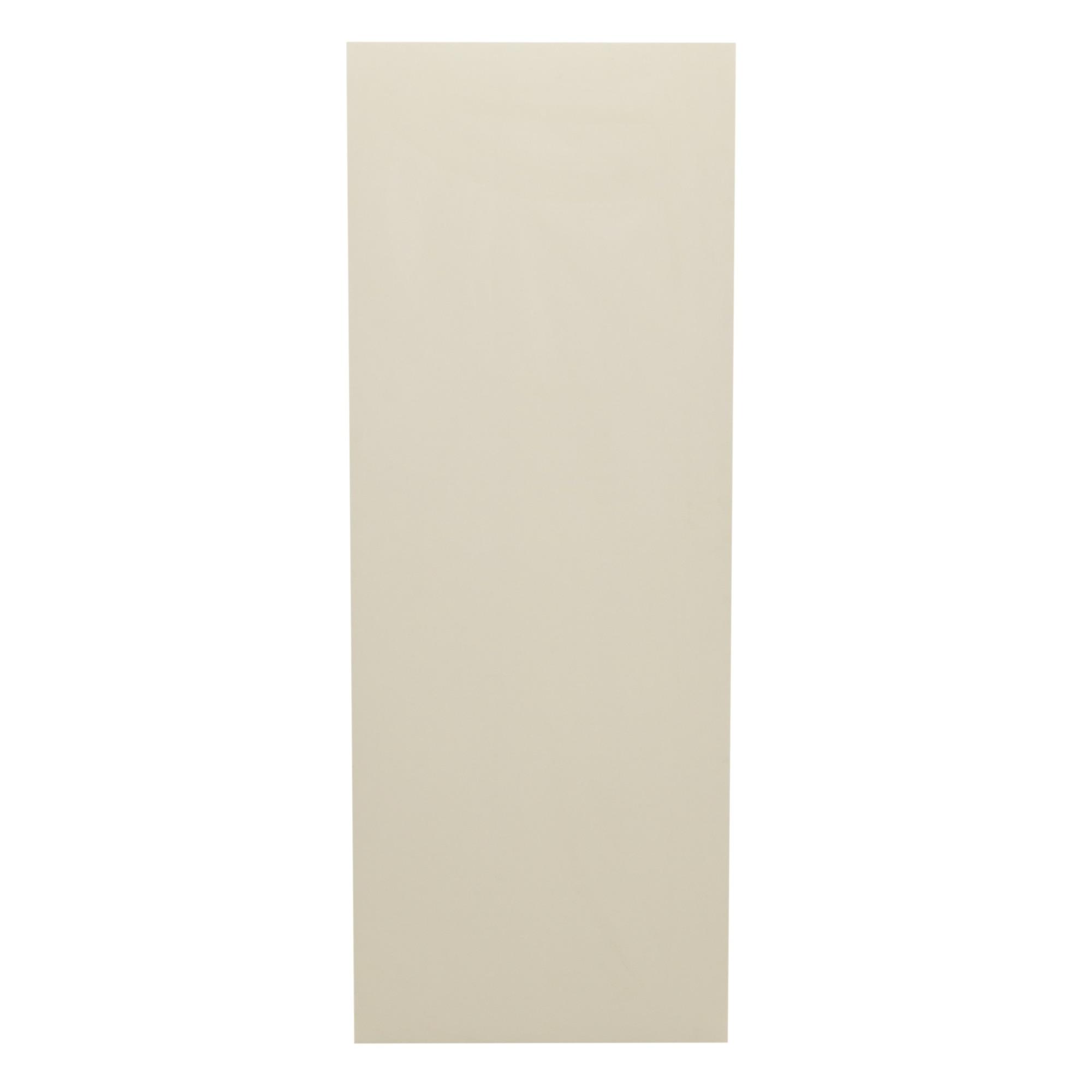 Porta de Madeira Lisa 60x210 cm Gelo para Apartamento - Madelar
