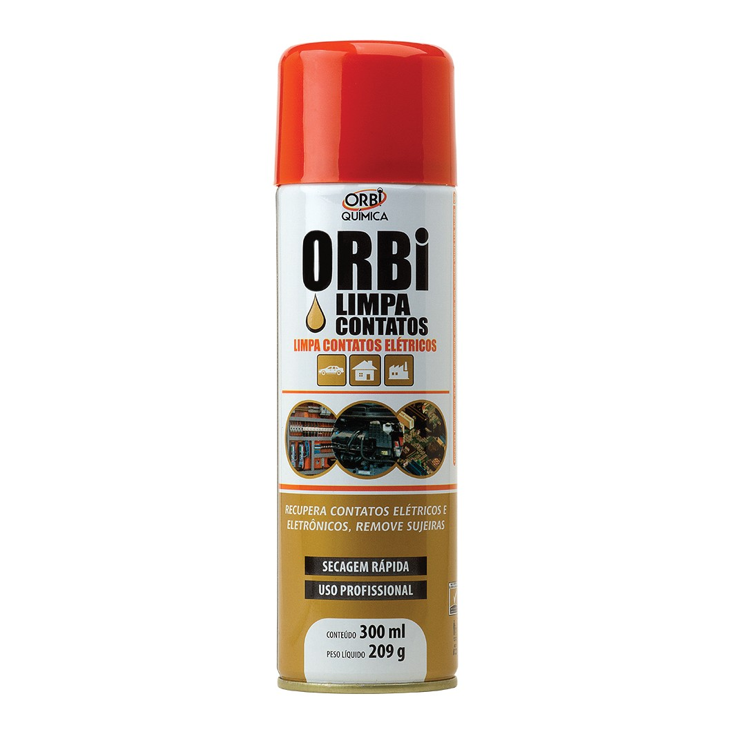 Limpa Contato Eletrico Spray 300ml - Orbi Quimica