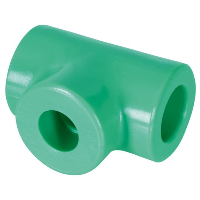 Te de Reducao extrema e central PPR 32 mm x 25 mm20 mm Femea - Amanco