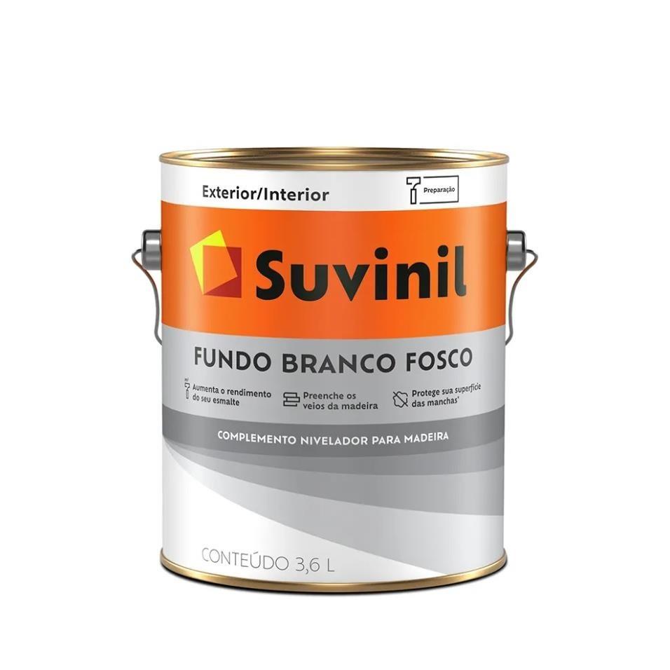 Fundo Nivelador Branco Fosco 36L - Suvinil
