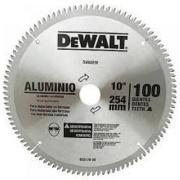 """Disco de Corte Perfis Alumínio 10"""" (254x30,0mm) 100 Dentes - DeWalt"""