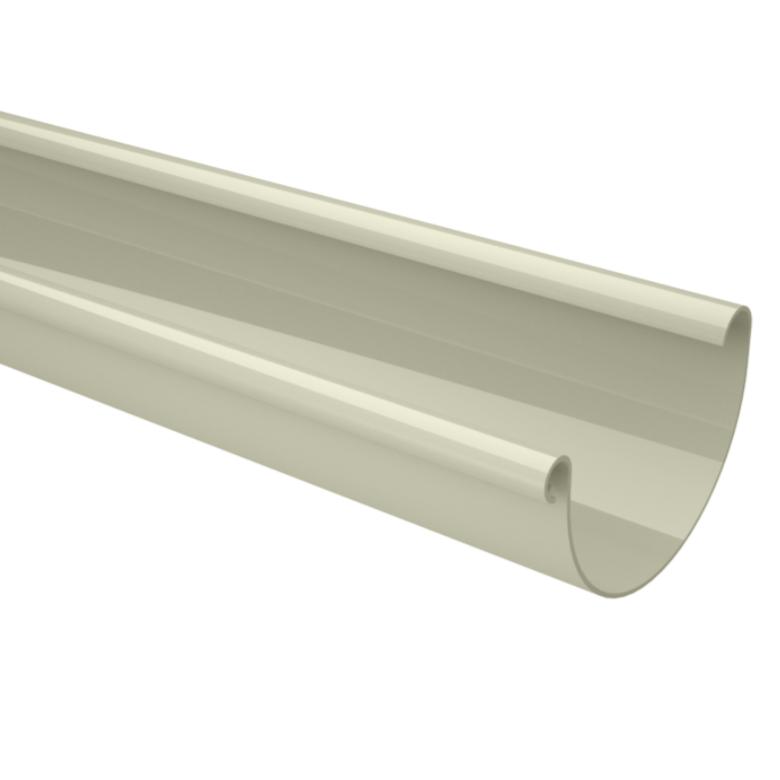 Calha de PVC 125 mm Bege - Aquapluv Tigre