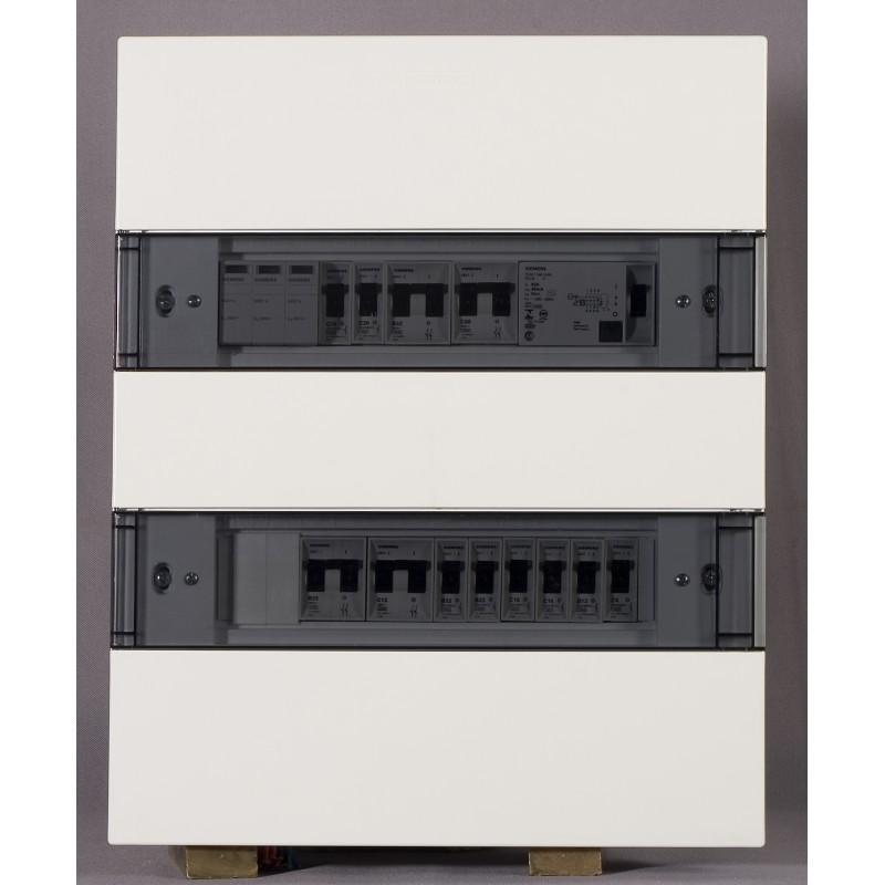 Quadro de Distribuicao Simbox de Embutir 24 Modulos Transparente - Siemens