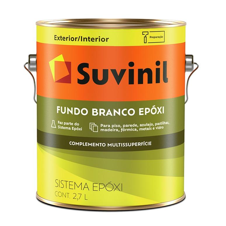 Tinta Epoxi Brilhante Premium 27L - Branco - Epoxi Suvinil