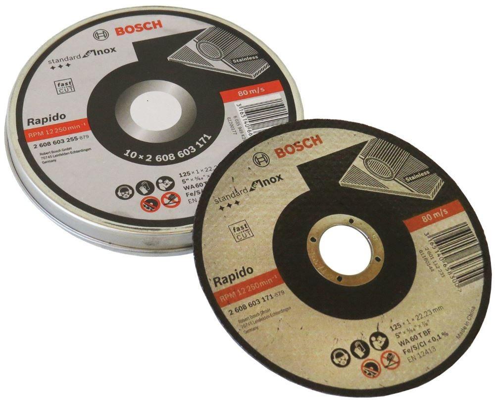 Disco de Corte para Inox 115x12 mm - Bosch