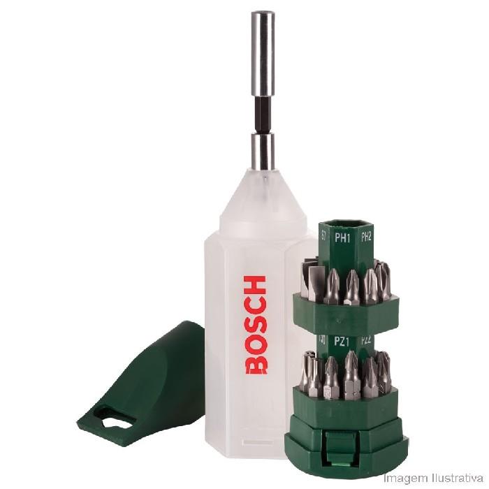 Jogo de BitsAdaptador 25 Pecas 2607019503 - Bosch