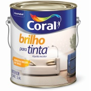 Brilho para Tinta 3,6L Incolor - Coral