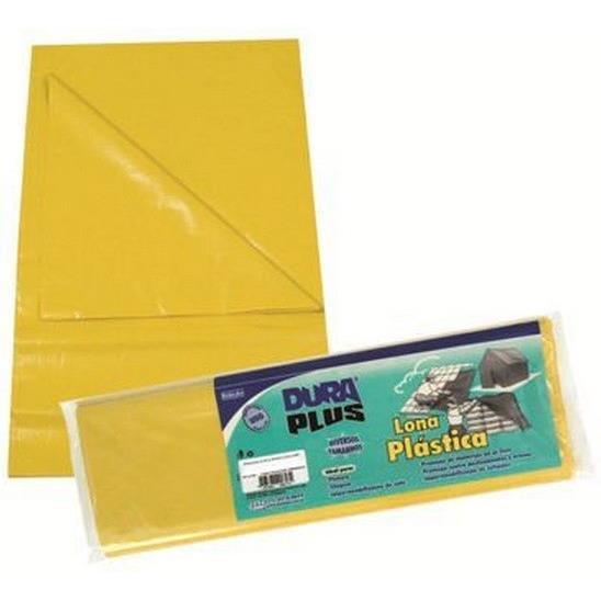 Lona Plastica 4x5m Amarela - Dura Plus