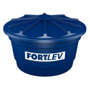Caixa D'água de Polietileno com Tampa 2.000L Azul - Fortlev