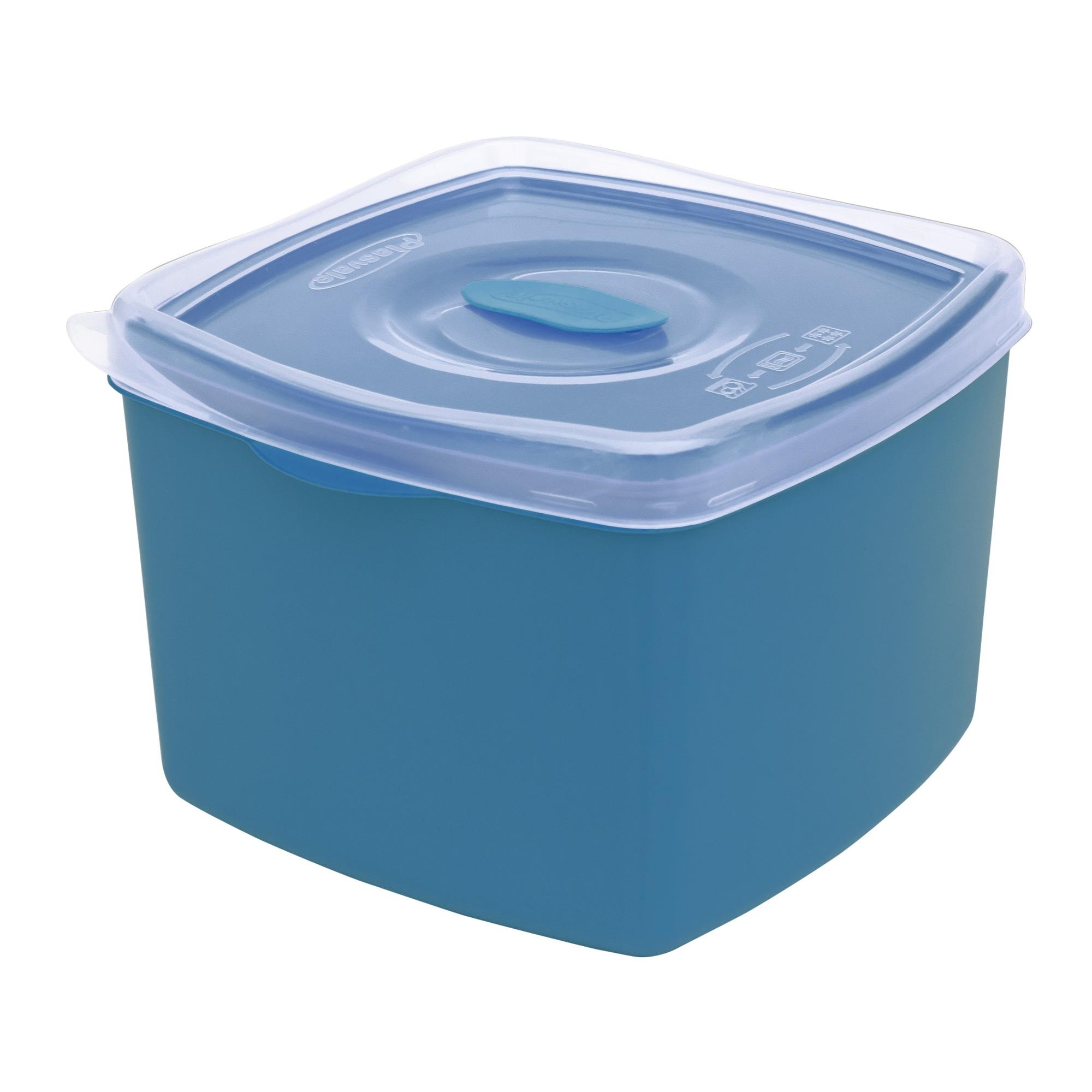 Pote Plastico Hermetico 14L 145x16 cm Cores Sortidas - Plasvale
