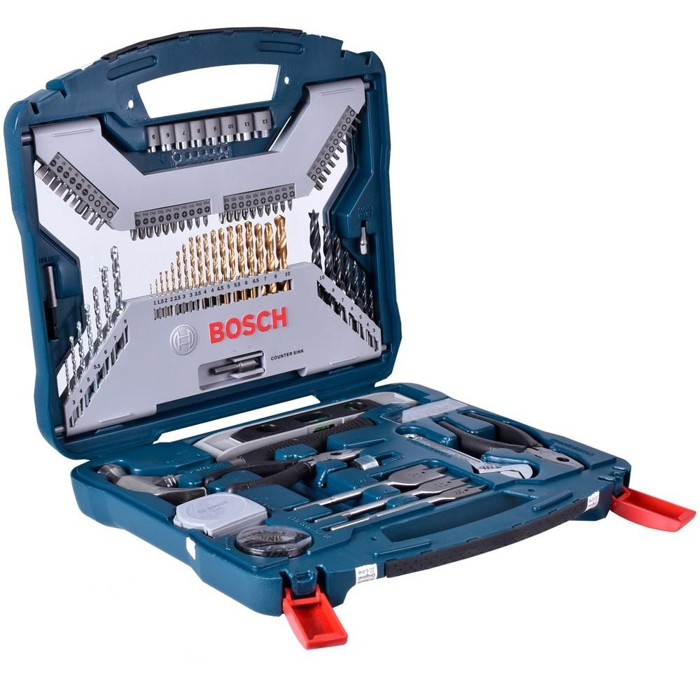 Jogo de Acessorio XLINE Titanio 103 Pecas 2607019331 - Bosch