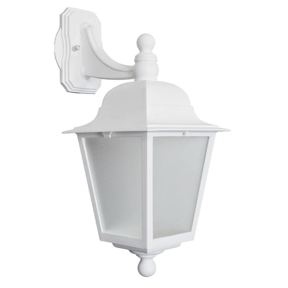 Luminaria de Parede Fixa Termoplastica para Baixo Branca 112 - Dital