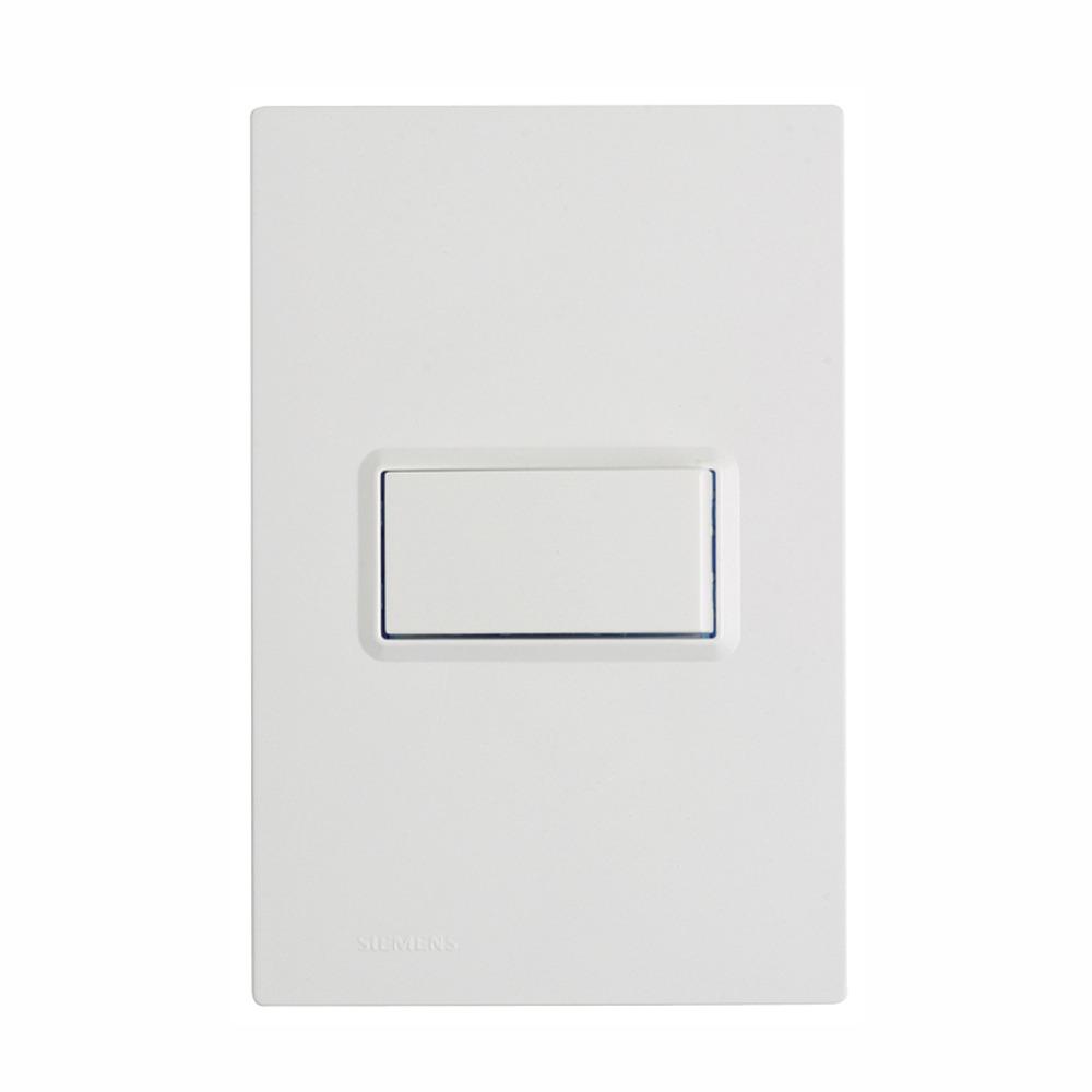 Conjunto Interruptor Simples 1 Modulo 16A - Branco - Delta - Iriel