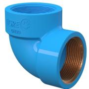 Joelho com Bucha de Latão 90° PVC Azul 25 mm - Tigre