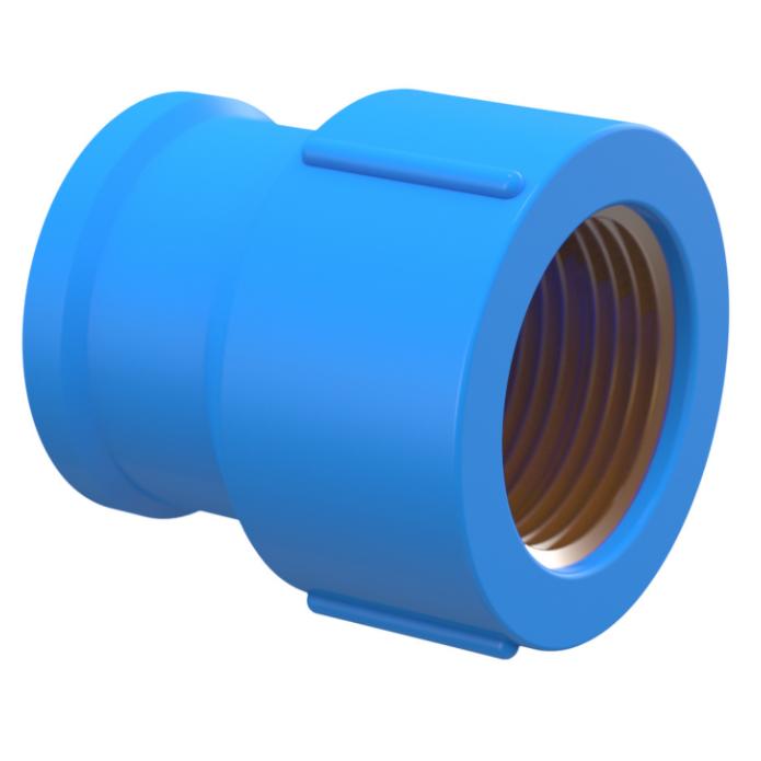 Luva com Bucha de Latao PVC Azul 20 mm x 12 - Tigre