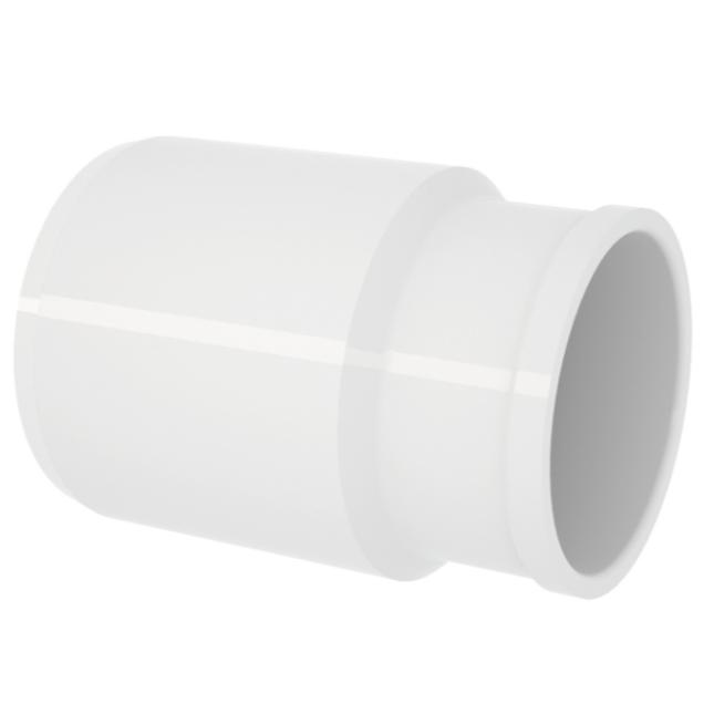 Bucha de Reducao Longo para Esgoto PVC Rigido Branco 50 mm x 40 mm - Tigre